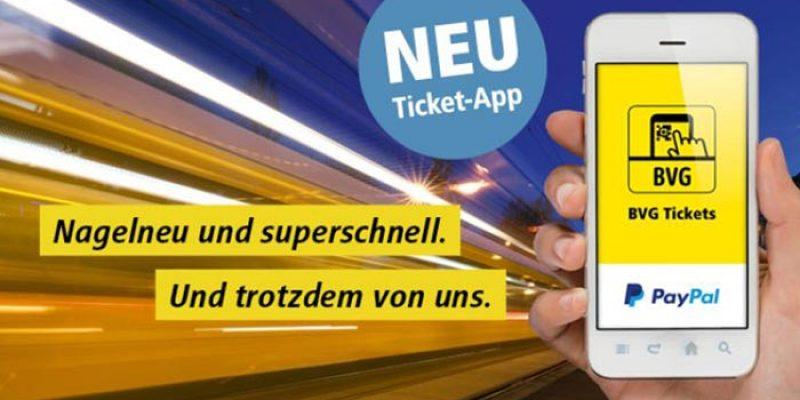 5€ BVG Gutschein bei Zahlung mit PayPal (Berliner Verkehrsbetriebe)