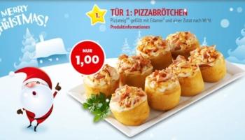 Call a Pizza Adventskalender: Jeden Tag ein Deal für 1€ – z.B. Salami Pizza für 1€
