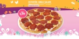 Call a Pizza Osterkalender – Täglich neues Angebot für 1€ (z.B. Salami Pizza für 1€)