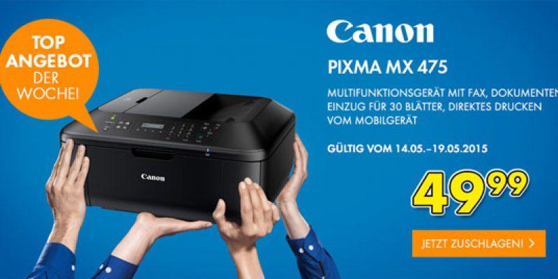 Canon Pixma MX475 Multifunktionsdrucker für 55,94€