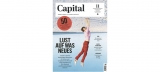 Capital E-Paper Jahresabo – 12 Ausgaben – für 1€ (Kündigung notwendig)