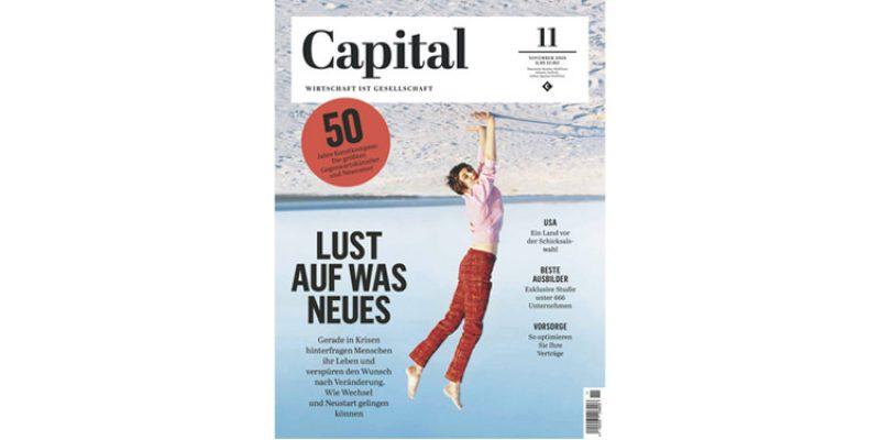 Capital E-Paper Jahresabo – 12 Ausgaben – für 2,49€ (Kündigung notwendig)