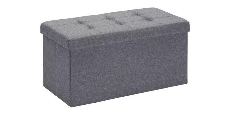 2x Carryhome Sitzbox Linon aus Vliesstoff (anthrazit) für 25,75€ inkl. Versand