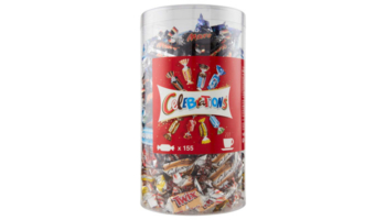 1,435kg Celebrations Box (Mars, Snickers, Twix, Milky Way, etc.) für nur 13,29€