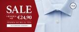 Charles Tyrwhitt Hemden ab 17,50€ (Sale + 12% Gutschein)