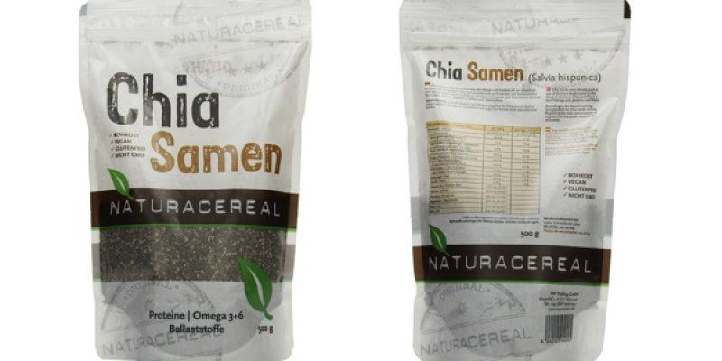 Naturacereal Chia Samen (2 KG) für 15,16€