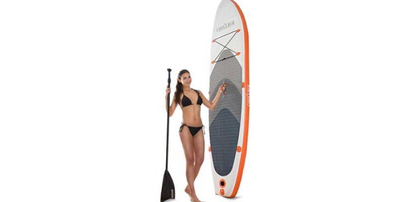 Chillroi Stand Up Paddling Board 2-Schicht-Konstruktion (300 x 76 x 15 cm) für 203,95€