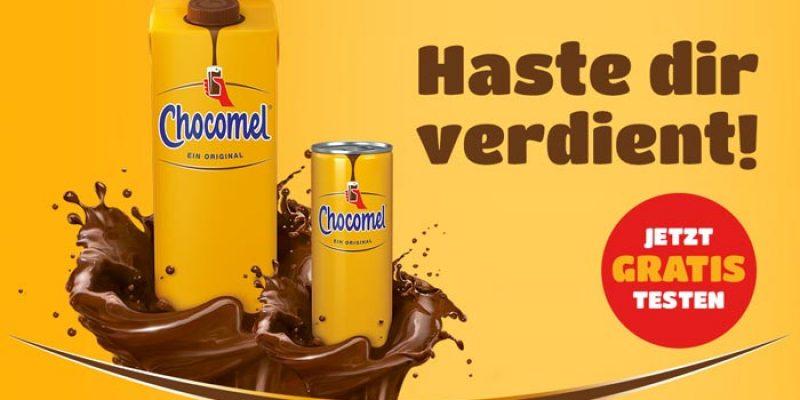 Chocomel Schokomilch gratis testen (1 Liter Tetrapack oder 250 ml Dose)