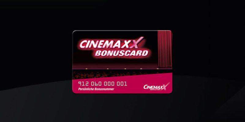 Kostenlose CinemaxX Bonuscard = Gratis-Kinokarte zum Geburtstag