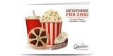2 x CineStar Kinotickets + Popcorn/Nachos + 2 x Getränke bei Groupon für 25€