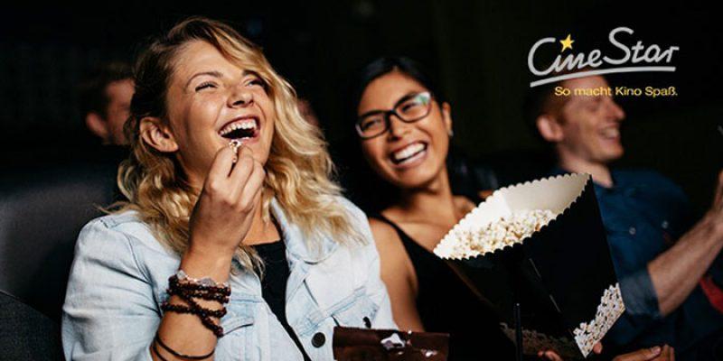 3x CineStar Kinogutscheine (2D-Filme) für 19,50€ bei Groupon