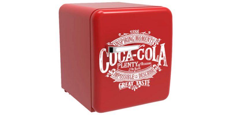 Coca Cola Retro-Kühlschrank Cube für 149€