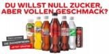 Coca Cola Zuckerfrei Probierwochen: 1x Flasche gratis testen (Cola, Fanta, Mezzo Mix, Sprite, Fuze Tea)