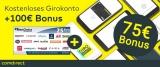 Comdirect Girokonto mit 75€ Startguthaben + 25€ Amazon-/BestChoice Gutschein