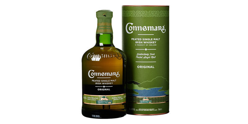 Connemara Peated Single Malt Irish Whiskey Original (0,7 Liter) für 18,99€