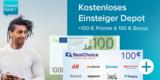 Kostenloses Consorsbank Depot + 100€ Startguthaben + 100€ Amazon Gutschein als Prämie
