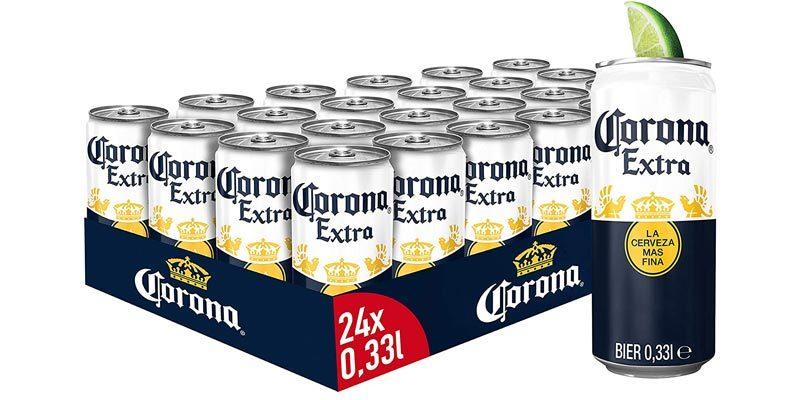 24x Dosen Corona Extra für 17,28€ (inkl. Versand)