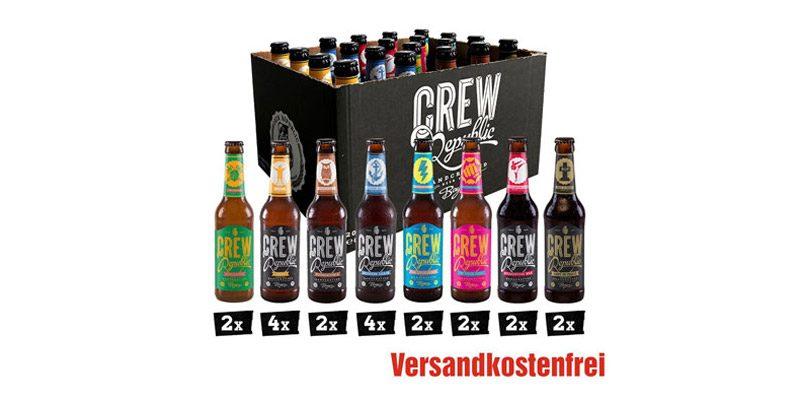 Crew Republic Craft Beer (diverse Pakete á 20 Flaschen) ab 25,99€