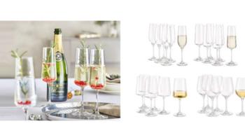 6x Schott Zwiesel Gläser / Crofton Chef's Collection Gläser für 6,78€ – Rotwein, Weißwein, Sekt, Grappa, Whiskey oder Wasser [ALDI Nord/Süd]