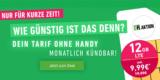 DeinHandy Sim-Only Tarif 12 GB LTE Flex für 9,99€ (12 GB LTE & Allnet-Flat)