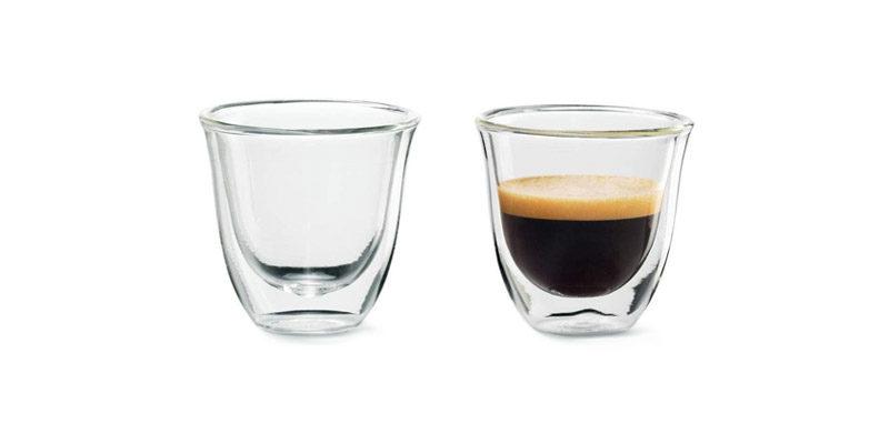 DeLonghi Espresso Gläser (2er Set, isoliert) für 7,99€ bei Amazon