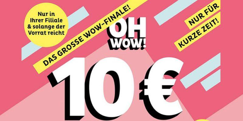 Depot Einkaufstasche Aktion: 10€ für alles, was in die Tasche passt