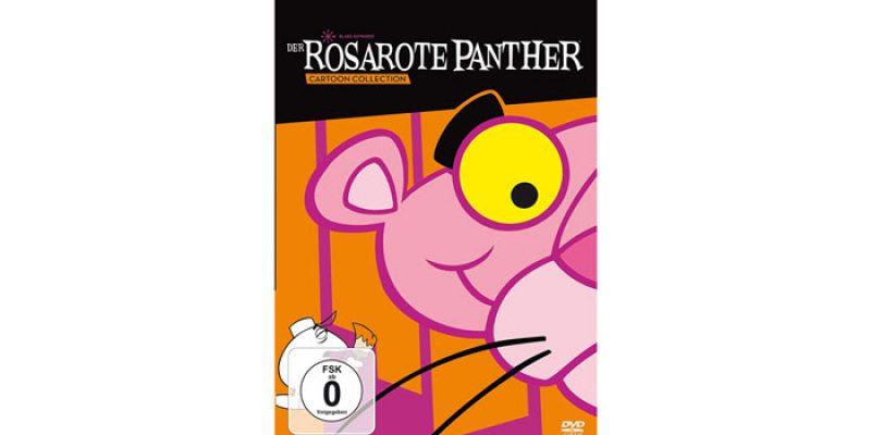 Der rosarote Panther Cartoon Collection auf DVD für 9,97€