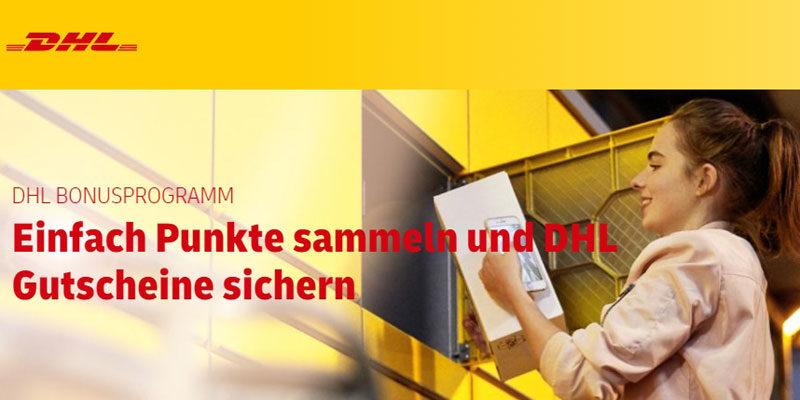 DHL Bonusprogramm: Doppelte Punkte sammeln (bei Versand über Packstation)