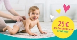dm & Pampers Vorteilsaktion: Pampers für 95€ kaufen & 25€ dm Gutschein erhalten