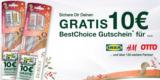10€ BestChoice Gutschein beim Kauf von 2x Doppelpacks Dr. Best Zahnbürsten