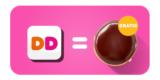 Dunkin Donuts Gutschein: Gratis Donut über Dunkin Donuts App