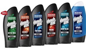 6x Duschdas For Men 2 in 1 Duschgel & Shampoo für 3,29€