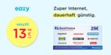 eazy DSL-Tarif mit 20 oder 40 Mbit/s ab 13,99€/Monat + 25€ BestChoice-/ Amazon Gutschein