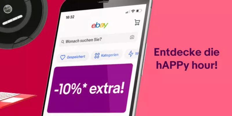 ebay Cyber Week 2020: Täglich neue Deals + 10% Gutschein auf B-Ware + hAPPy Hour ab 18 Uhr (10% Gutschein über ebay App)
