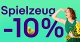 10% Gutschein auf Spielzeug bei eBay (nur bis 20:59 Uhr)