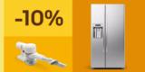 10% Gutschein auf Haushaltsgeräte (Waschmaschinen, Kaffeemaschinen, Staubsauger, etc.) bei eBay