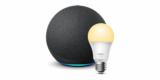 Amazon Echo 4. Generation (smarter Lautsprecher) + TP-Link Tapo Smarte Lampe für 69,99€