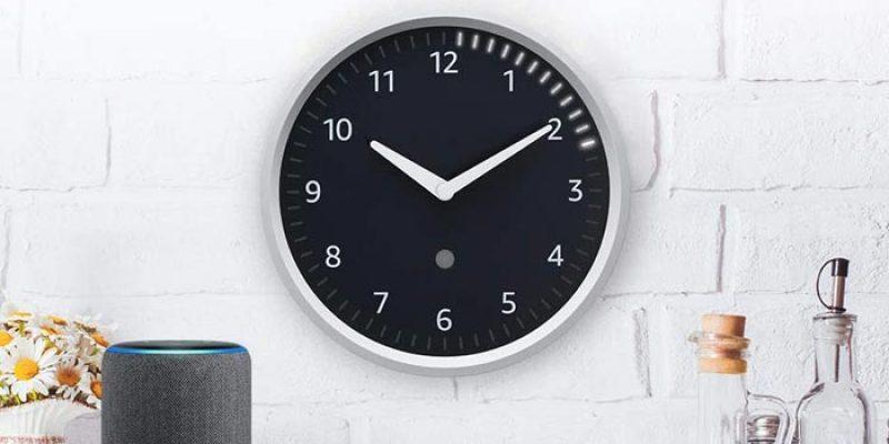 Amazon Echo Wall Clock für 22,49€ – Analoge Wanduhr inklusive Timer-Anzeige