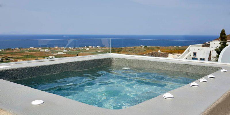 Übernachtung im Luxushotel Edem Santorini (Griechenland) inkl. Frühstück ab 139€