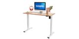Elektrisch höhenverstellbarer Schreibtisch von Flexispot (inkl. Ahorn Tischplatte) für 209,99€