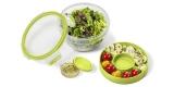 Emsa Salatbox Clip & Go für Unterwegs (2 Einsätze für Zutaten & Soße) für 4,34€