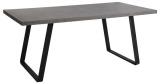 Grauer Esstisch mit Betonoptik im Industrial Style für 208,95€