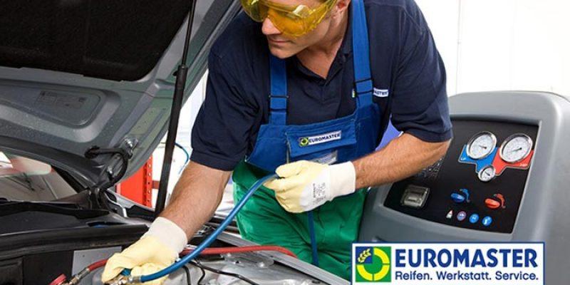 Euromaster Klimaanlagen-Wartung für 49,90€ bei Groupon