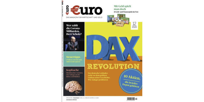 Jahresabo Euro Magazin für 106,80€ + 105€ Amazon Gutschein