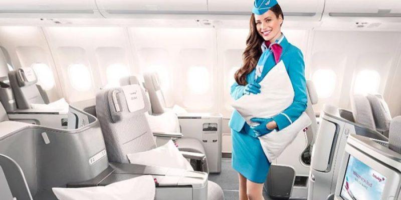 Eurowings BIZclass (Business Class) ab 799,99€ für Flüge ab Düsseldorf