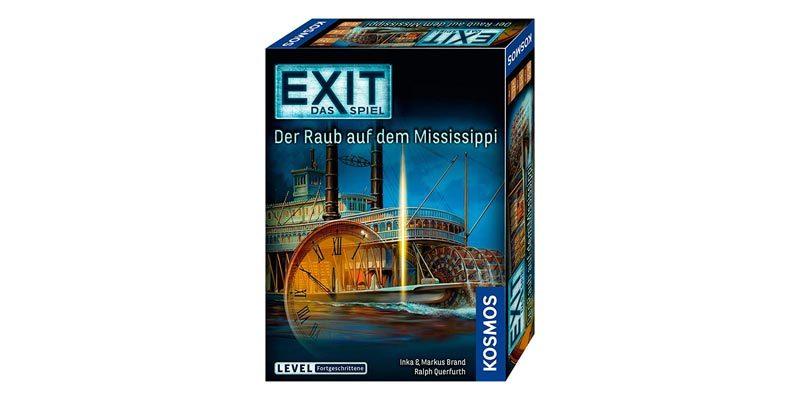 Kosmos Exit Game Brettspiele – z.B. Die vergessene Insel für 8,99€