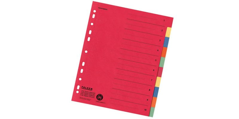 Falken Ringbucheinlage aus Karton für DIN A4 Ordner für 0,97€