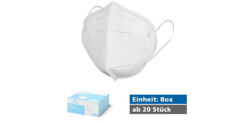 20x Siegmund Care FFP2 Masken für 21,96€, inkl. Versandkosten (= 1,01€ pro Stück)