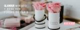 Glamour Miniabo: 3 Ausgaben + Fleurs de Paris (konservierte Rose) für 5,90€