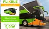 100.000 FlixBus Tickets über die App ab 5,99€